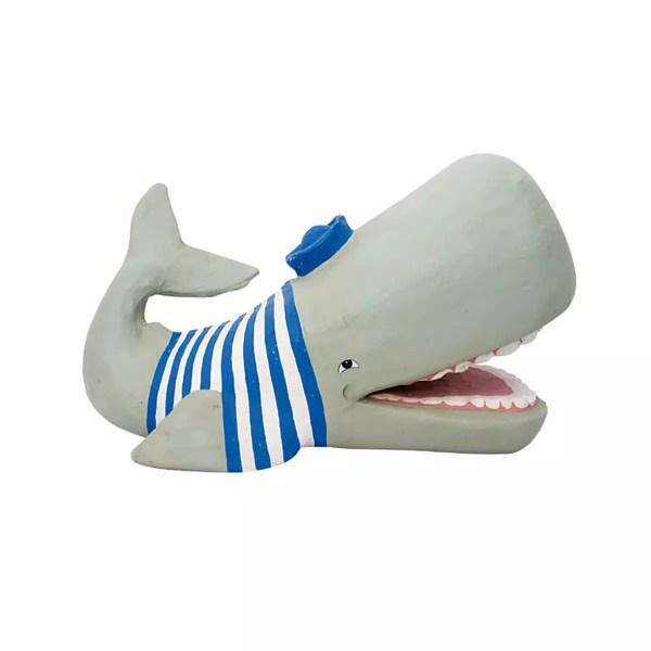 Moby Dick matrózpólóban Mókás figurák, szobrok