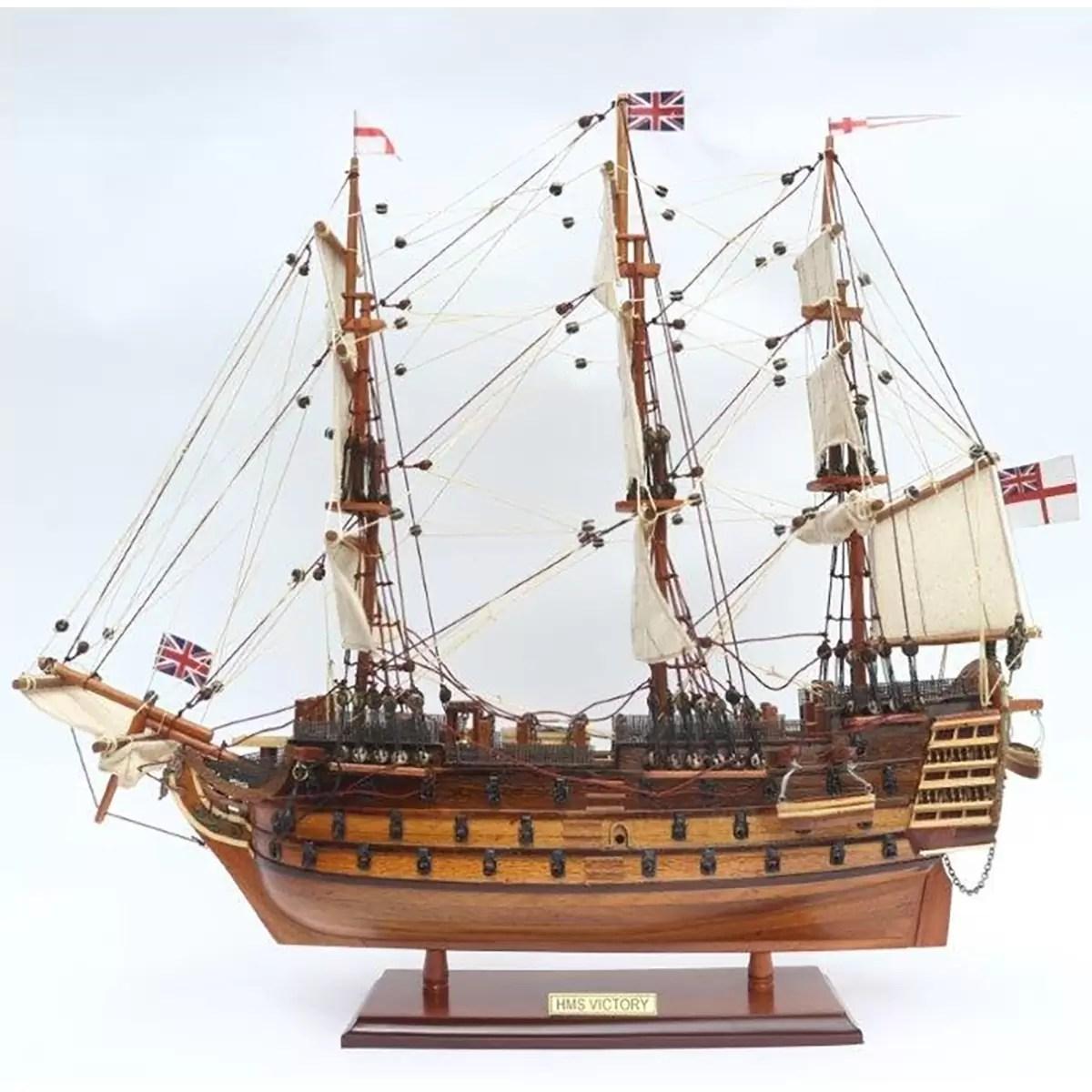 HMS Victory makett Óriás hajómakett