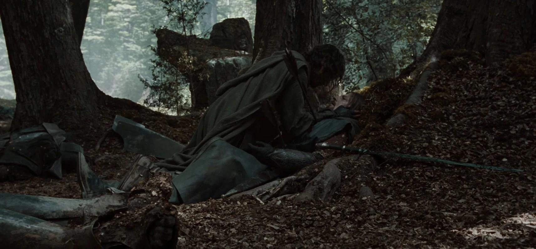 Lotr Falls Of Rauros Wallpaper Aragorn Ii Elessar Lord Of The Rings Wiki