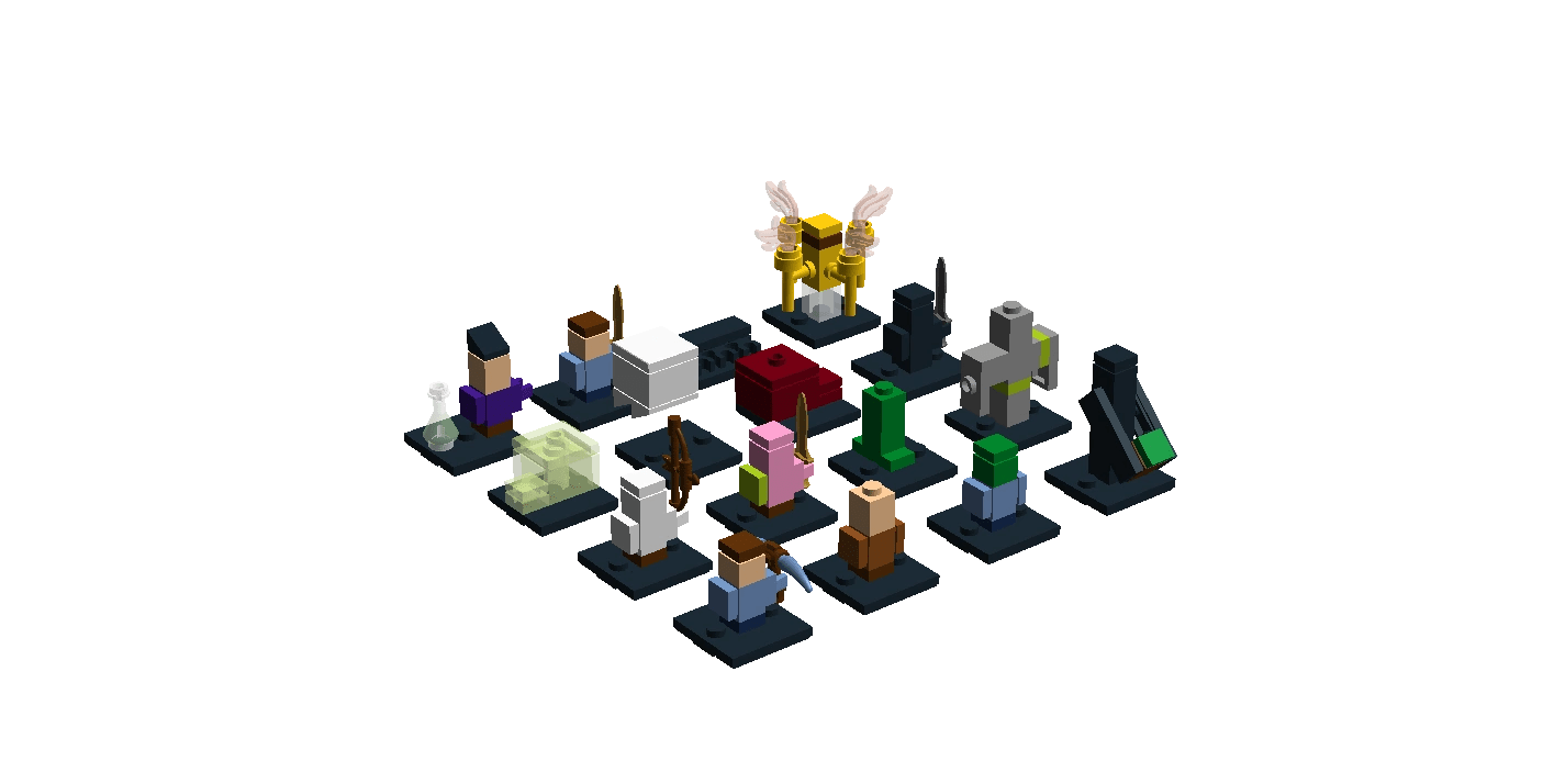 CustomMinecraft Colectable Micro Mobs Brickipedia The LEGO Wiki