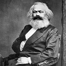 Fotografía de Karl Marx