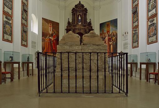 Capilla del Cid en el Monasterio de San Pedro de Cardeña.