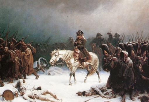 Retirada de las tropas napoleónicas de Moscú