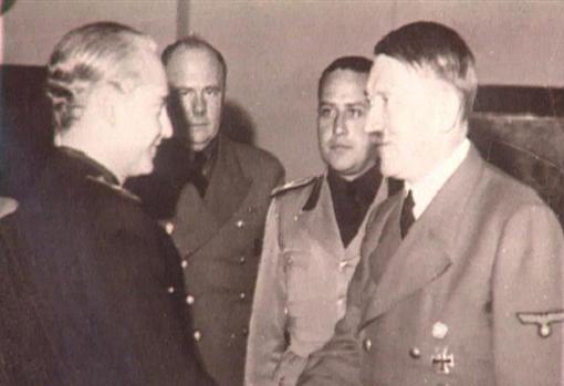Berlín (Alemania), septiembre de 1940. Ramón Serrano Suñer se entrevista con Adolf Hitler.
