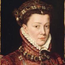 Retrato de Isabel de Valois.
