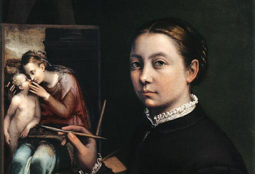 Sofonisba Anguissola, Autorretrato, 1556, Museo Lancut