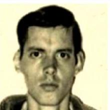 Heinz Chez, en la foto original de su detención, en 1972