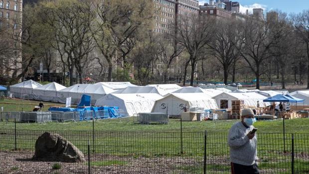 Imagen de Central Park, Nueva York, este fin de semana