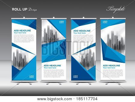 blue business roll up