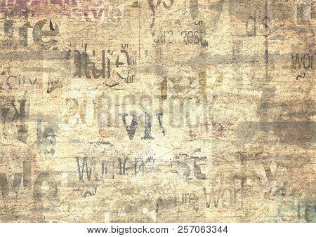 old grunge newspaper paper