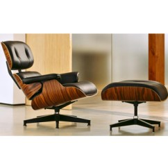 Charles Eames Lounge Chair Kitchen Chairs On Rollers And Ray Ottoman