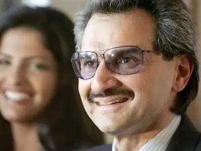The richest Saudi Arabian: Prince Alwaleed Bin Talal Alsaud