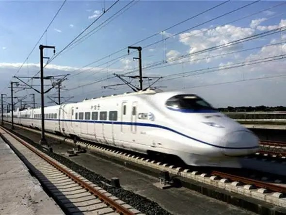 """America's fastest """"high speed"""" train goes less than half as fast as the new train between Shanghai and Beijing (150 mph vs 302 mph)"""
