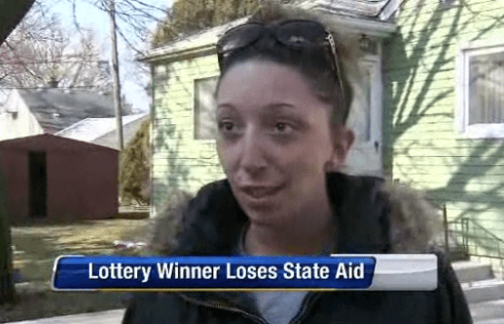 Food Stamp Lottery Winner