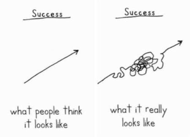 Image result for progress graph what it really looks like
