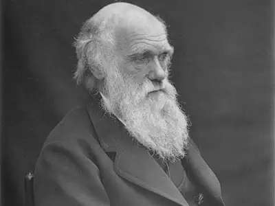 Explorer Charles Darwin ate most of the animals he discovered.