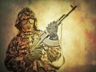 Ak gasmask military
