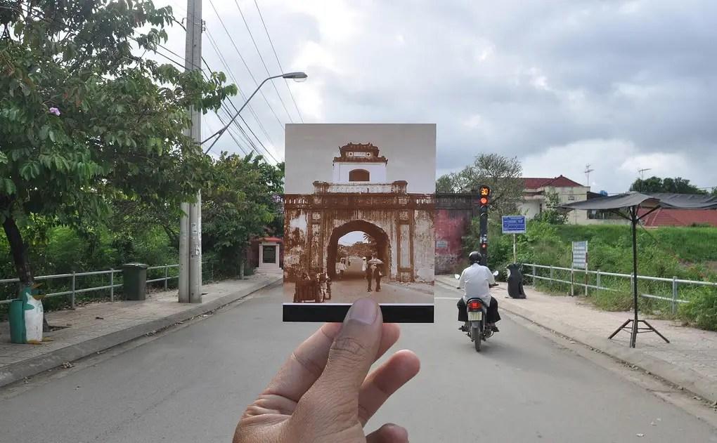 Gateway of Diên Khánh Town