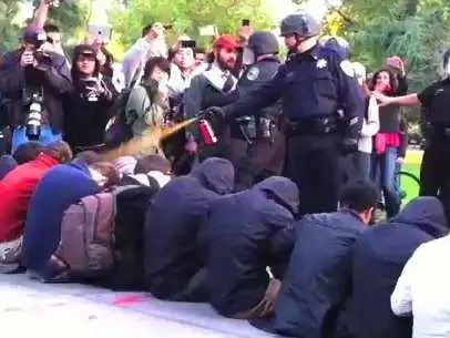 pepper spray uc davis