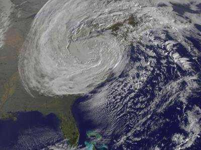 Climate change hits financial markets