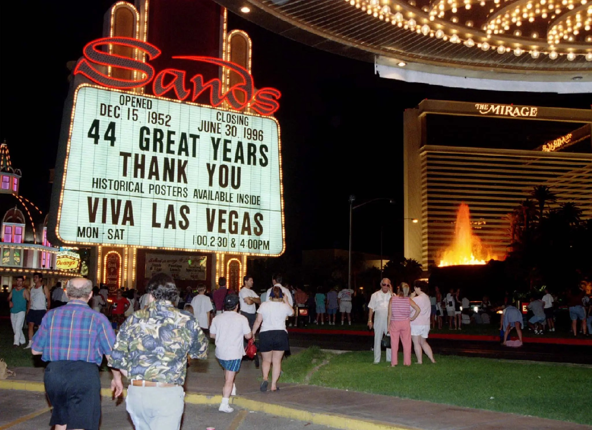In 1988, Adelson bought the creaking Sands casino.