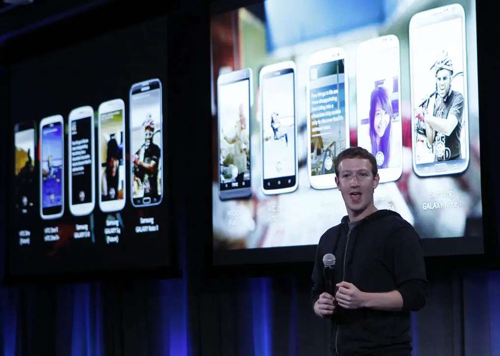 But in April, Mark Zuckerberg launched the Facebook Home phone, which totally bombed.