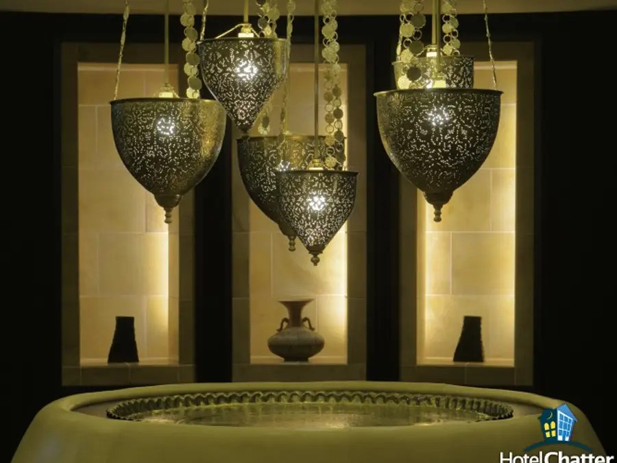 And a soothing spa with nice, calming touches.