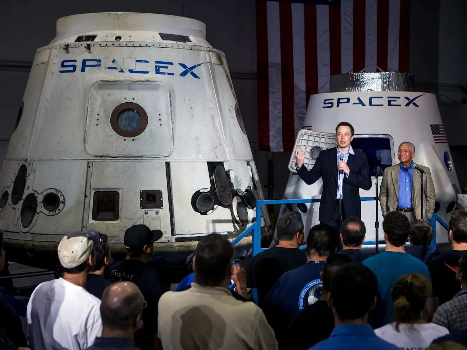 Before the sale of PayPal was complete, he founded one of the two companies that has made Musk so famous over the last few years: SpaceX.