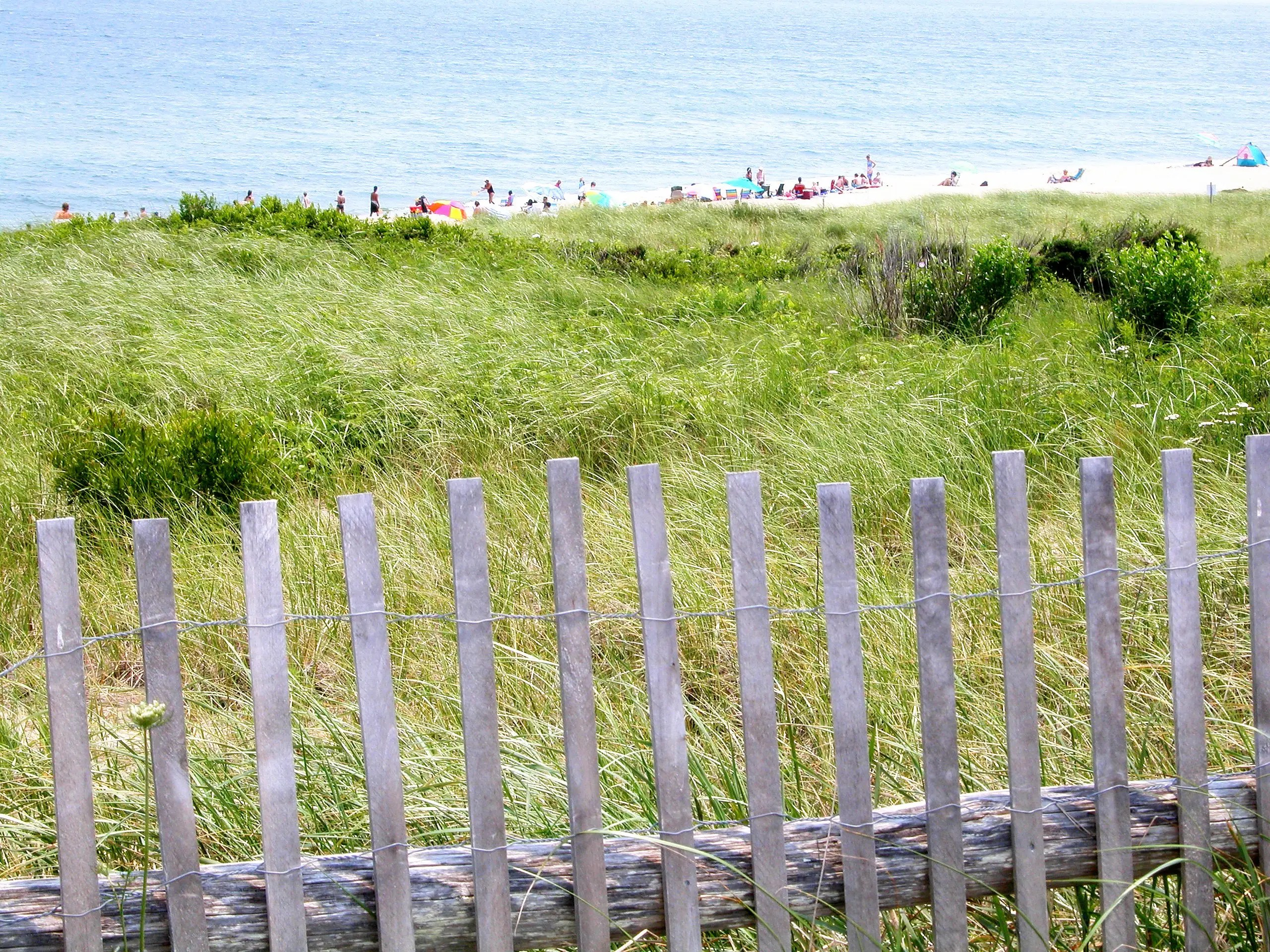 Hike, swim, or relax on pristine Coast Guard Beach in Massachusetts, which is part of the Cape Cod National Seashore.