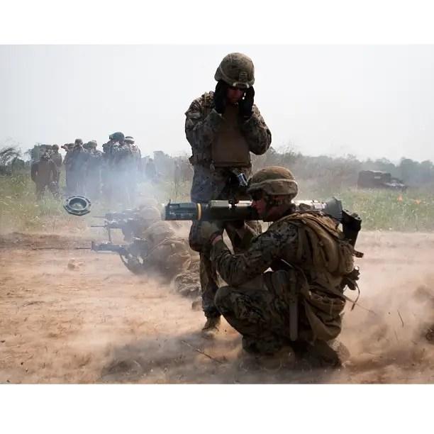 Marines love rockets. Love firing them even more.