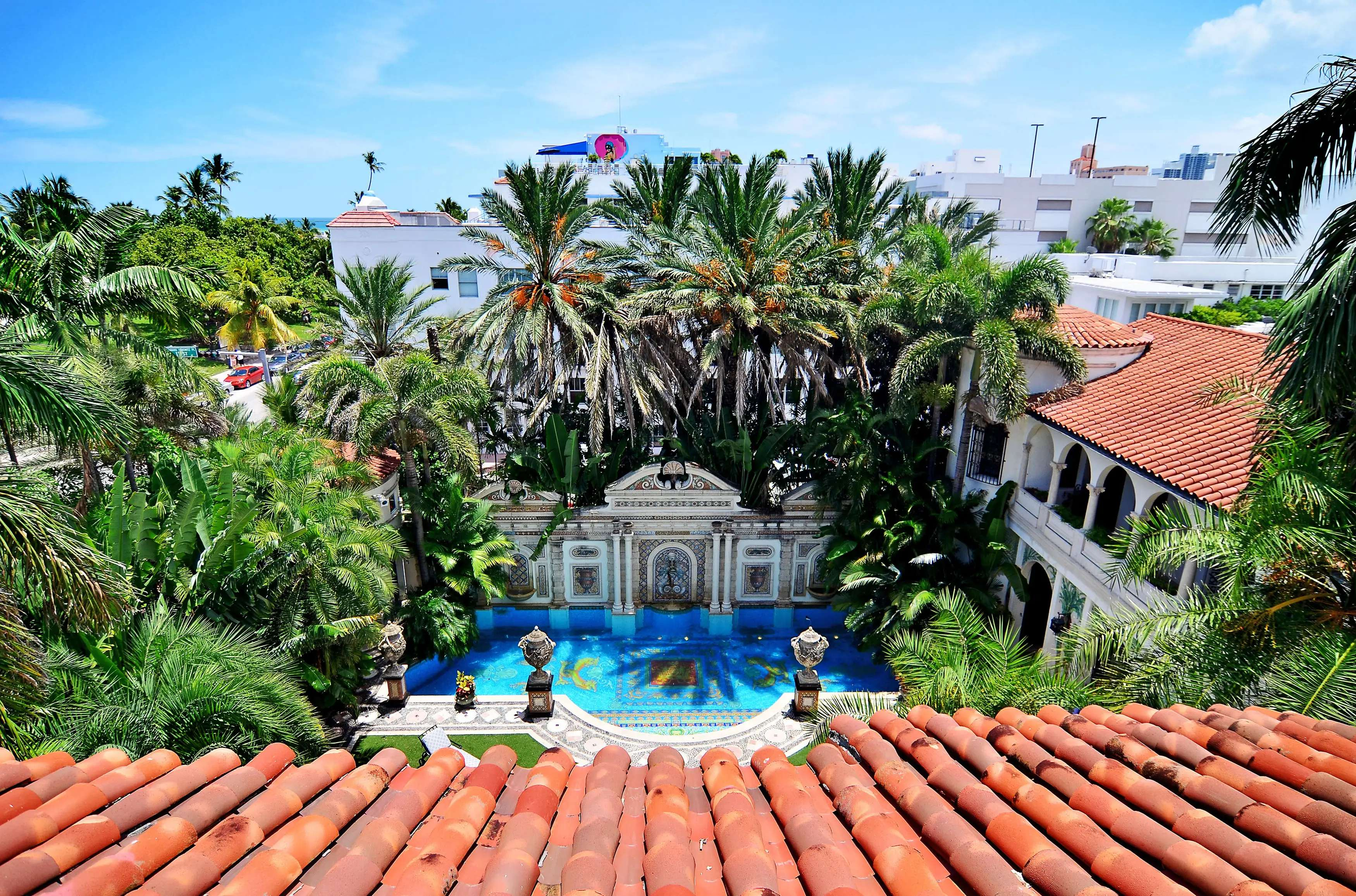 Versace originally bought the home in 1992 and spent $33 million renovating it.