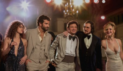 The glittering ensemble cast of American Hustle