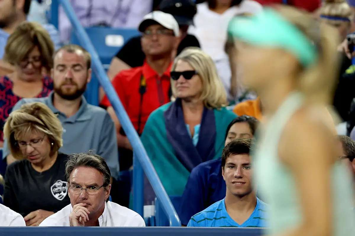 Before she knew she was out for the U.S. Open, she fired her coach Jimmy Connors.