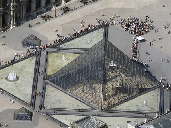 Aerial Views Of Paris' Sites - Business Insider