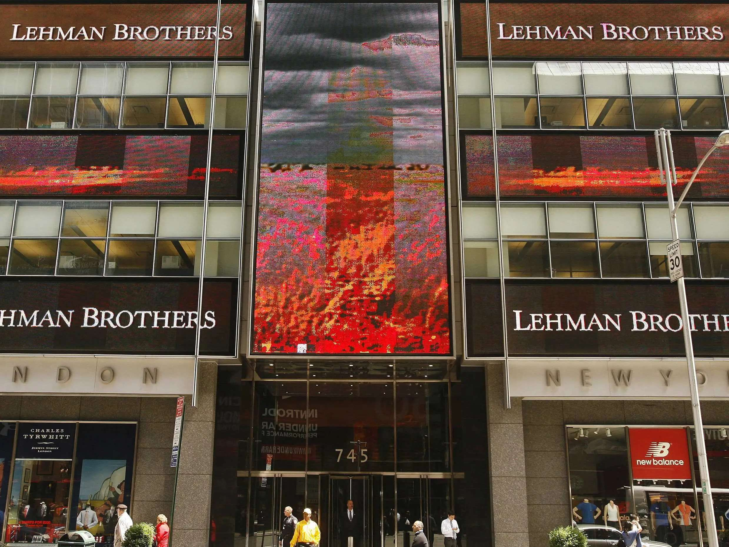 SEP 14, 2008: Meanwhile, Lehman Brothers can't find a buyer and files for bankruptcy.