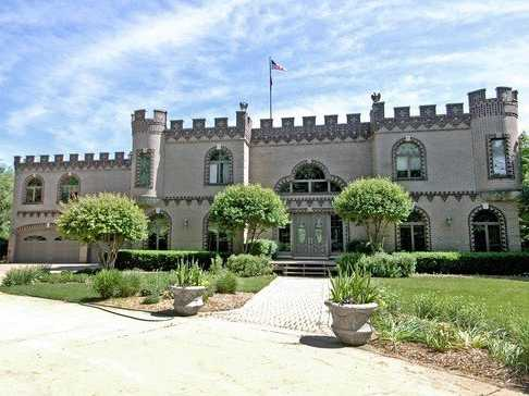 Live like a king in this Midwestern castle.