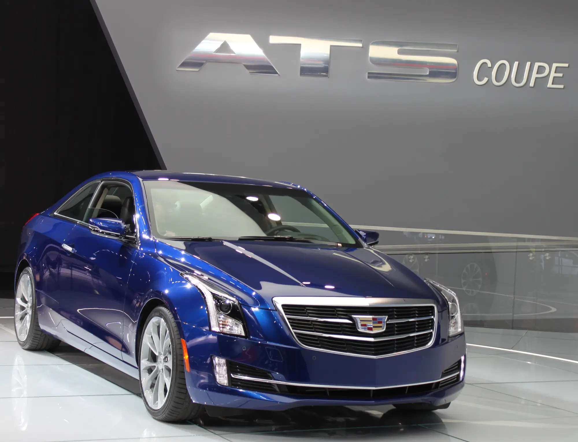 Cadillac showed us the 2015 ATS Coupe, a gorgeous two-door take on the sedan it introduced last year. It's a lightweight powerhouse that will go from 0 to 60 mph in about 5.6 seconds, the luxury brand says.