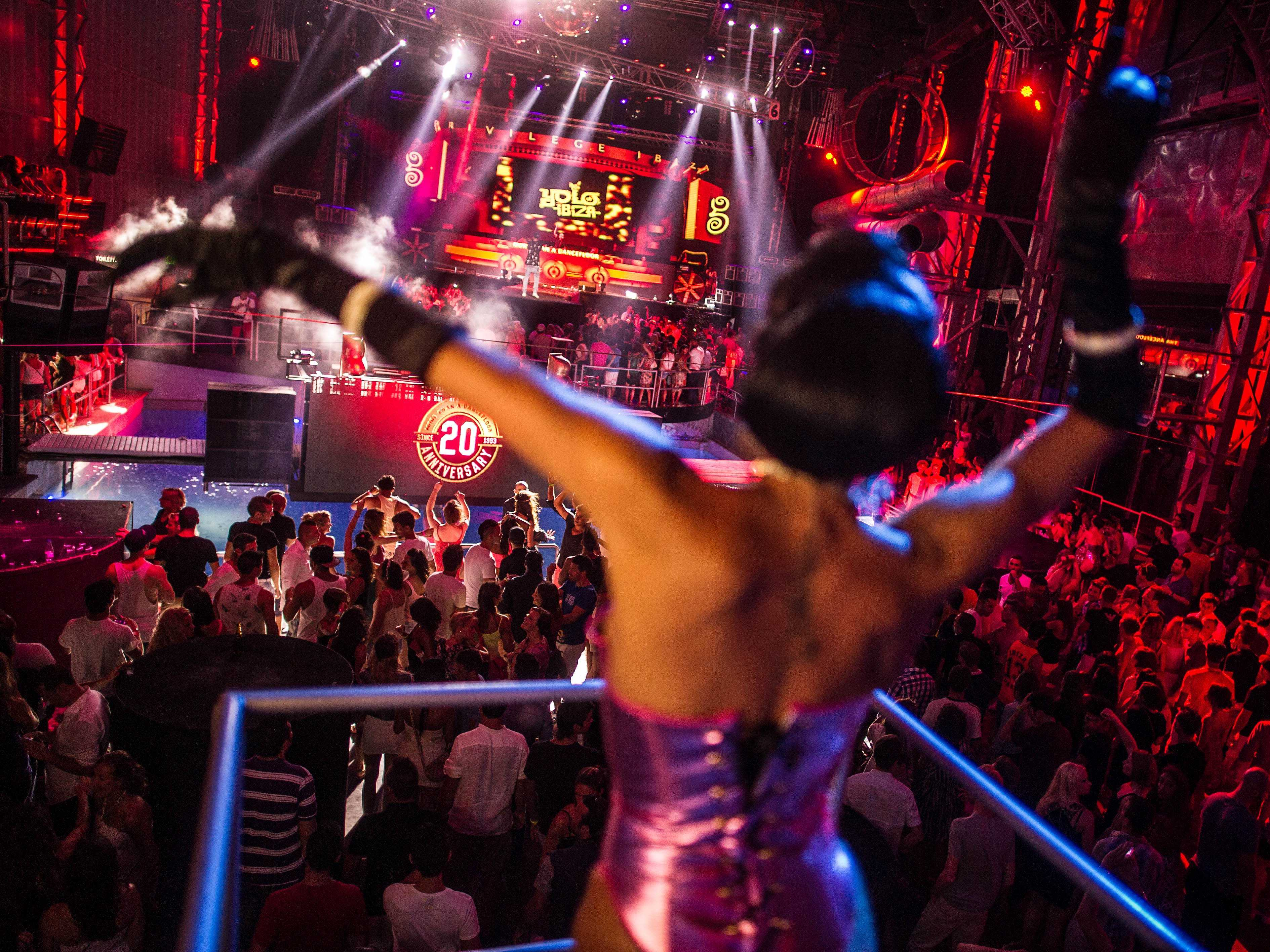 Stay up all night partying on the Spanish island of Ibiza.