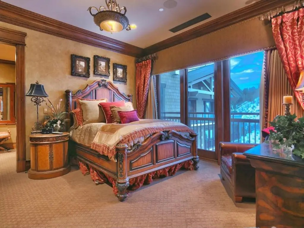 There are four other bedrooms throughout the home, all with access to the patio.