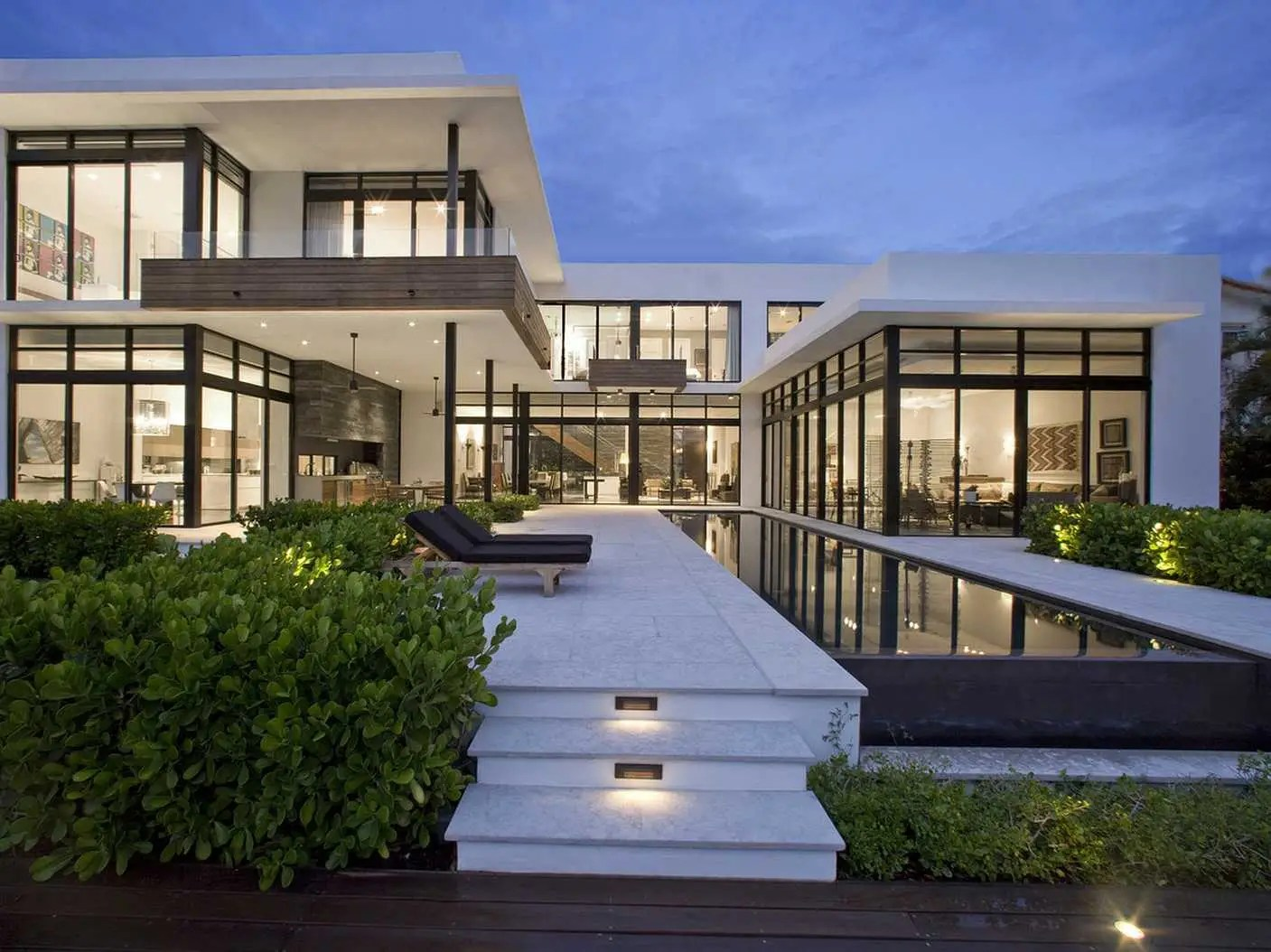 The home sits on approximately 100 feet of water frontage in the town of Golden Beach, Florida. Originally listed for $12 million, Mrs. Franco decided to raise the price this month to just under $13 million due to the strengthening local market, reports WSJ.