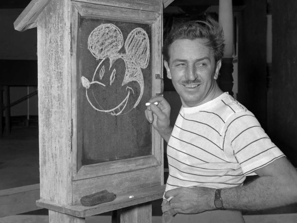 """Walt Disney was fired by a newspaper editor because he """"lacked imagination and had no good ideas."""""""