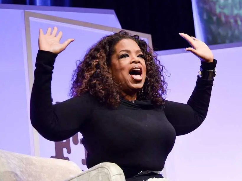 Oprah Winfrey was fired from her first television job as an anchor in Baltimore, where she said she faced sexism and harassment.