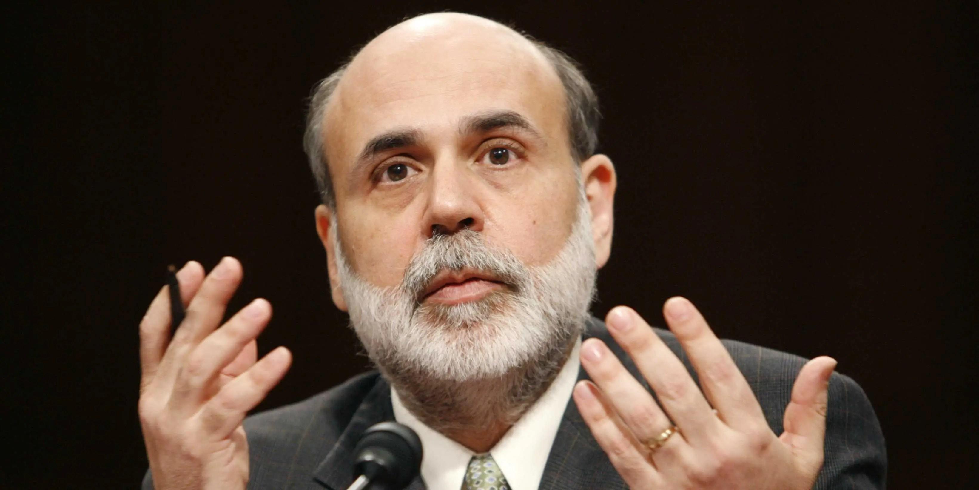 Ben Bernankes Bond Trade Business Insider