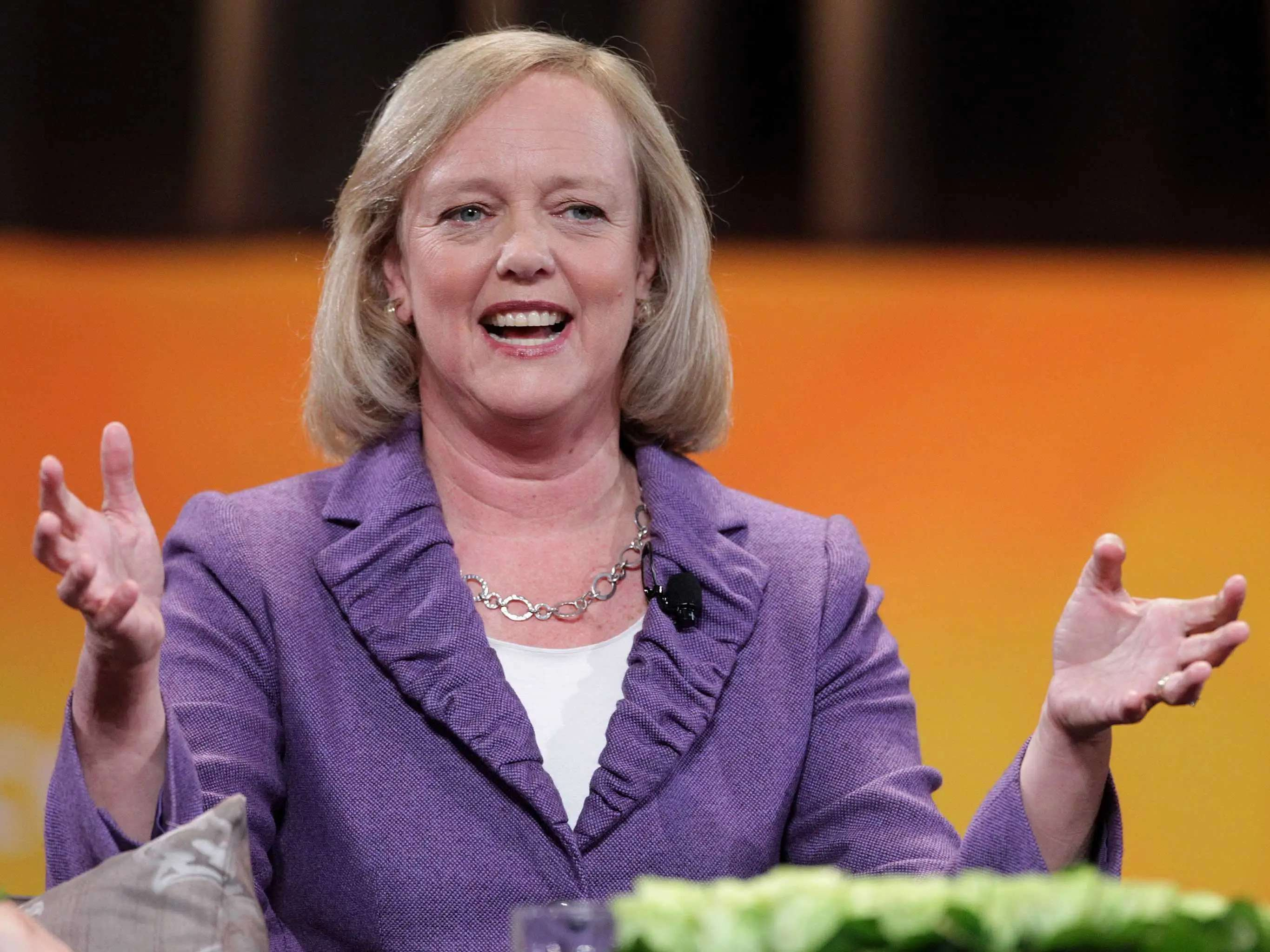 1. Meg Whitman, CEO, HP