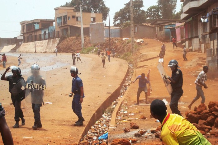 12. GUINEA: Despite Guinea's natural wealth, the state has been unable to capitalize due to political instability and rampant corruption. A series of juntas and coups has scared off foreign investment, and the political situation is as fluid as ever.