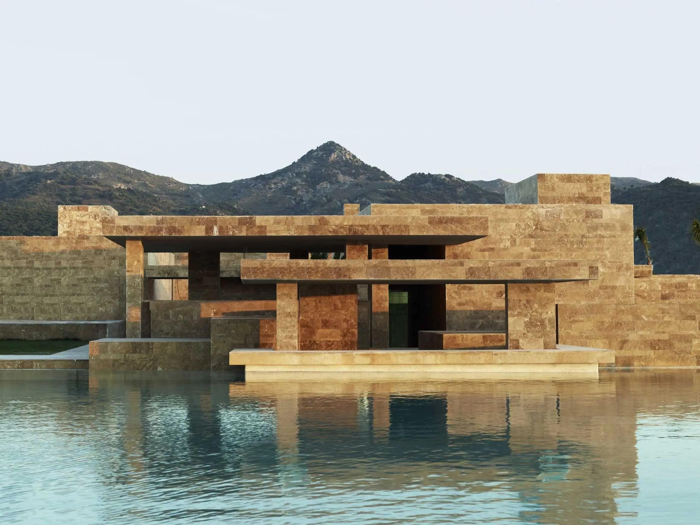 Yalikavak Marina Complex by Emre Arolat Architects, Bodrum, Turkey (shortlisted in Shopping)
