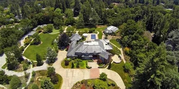 Inzu zihenze cyane ku isi buri wese yakwifuza guturamo, Silicon Valley Mansion, Los Altos Hills, California