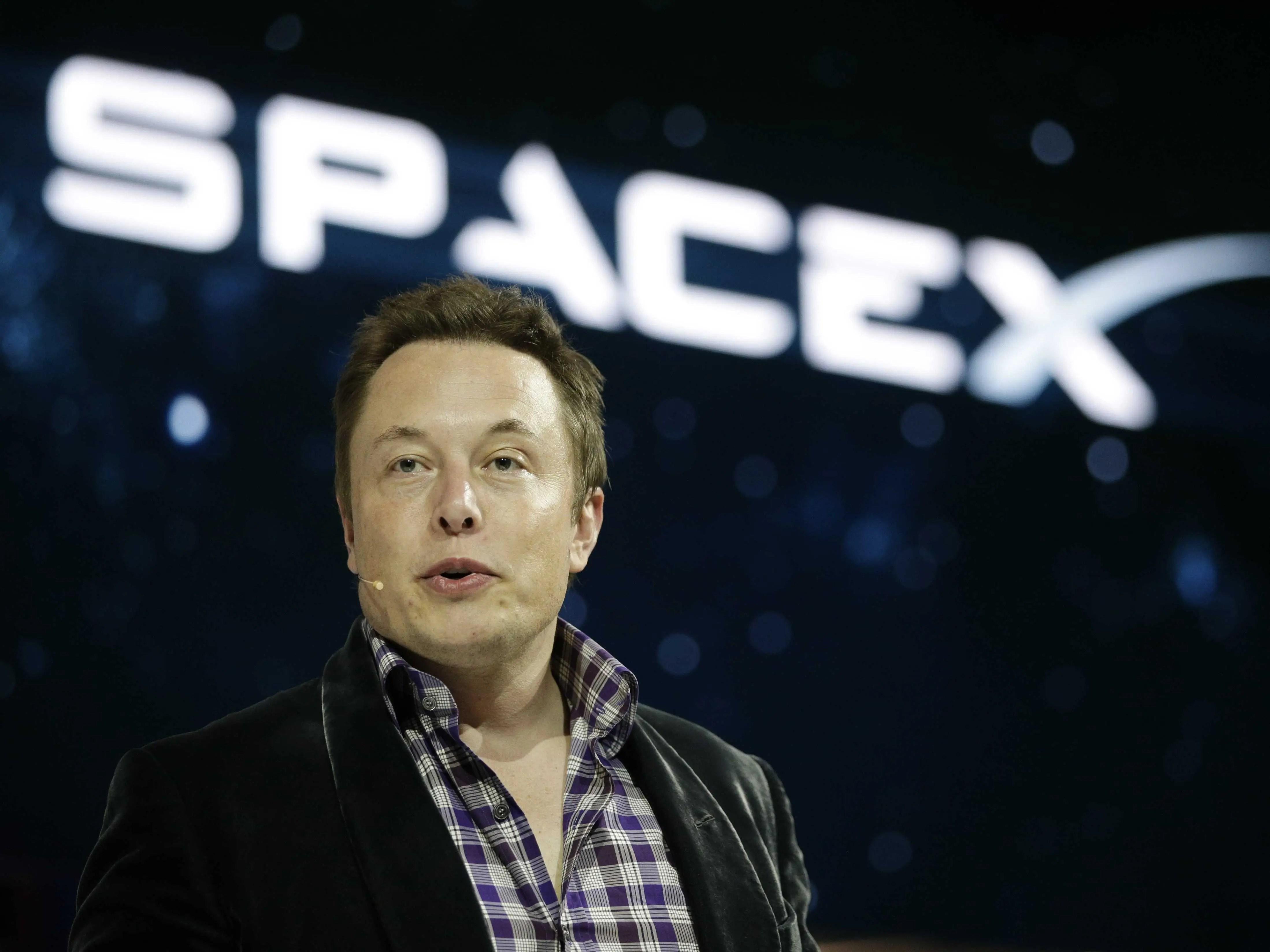 Elon Musk SpaceX Marte