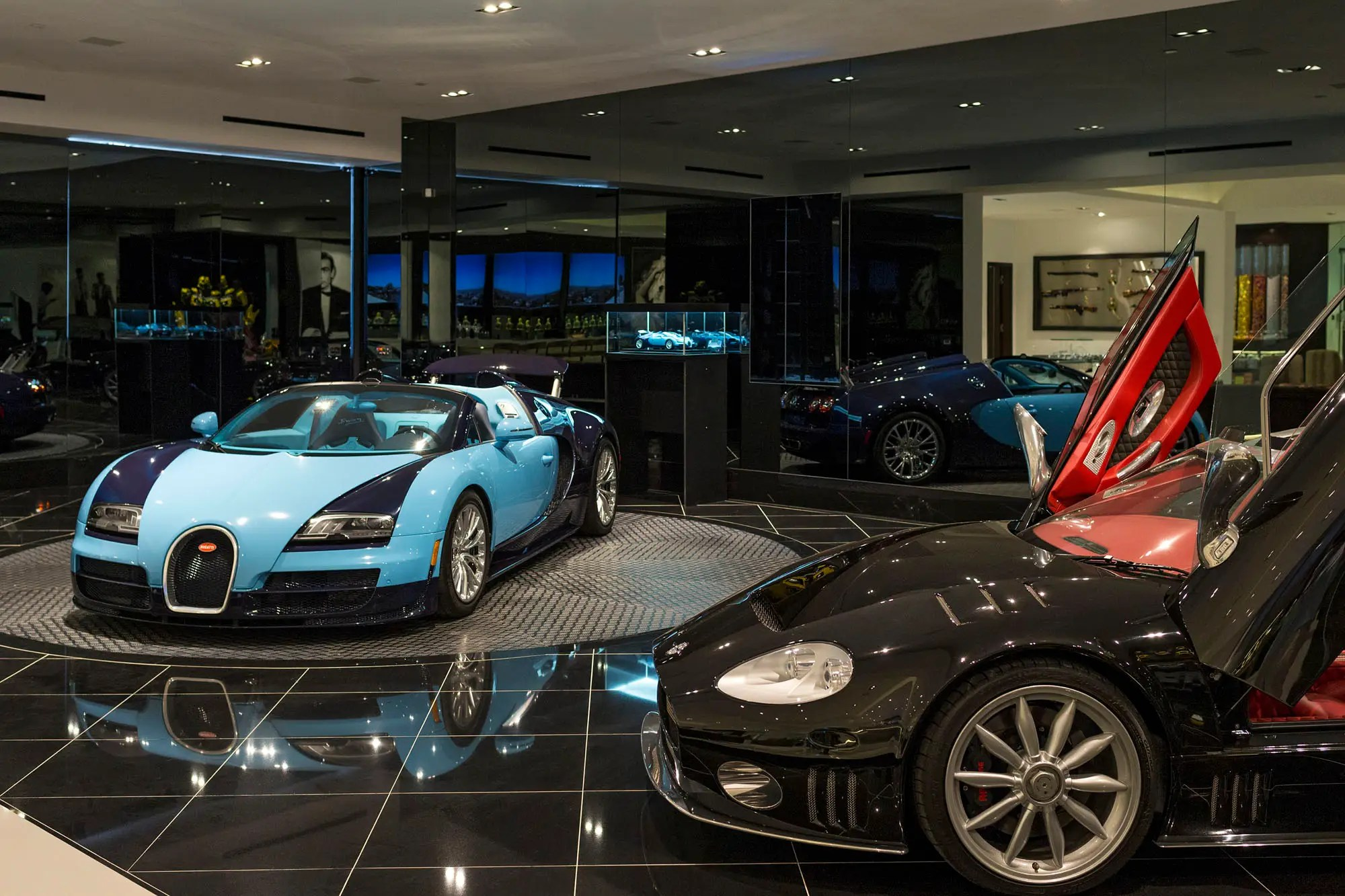 And for those who want to showcase their cars, there's a space for that, too.