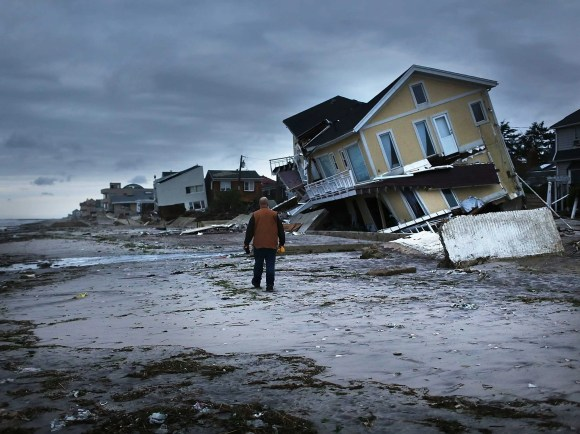 Wipeouts like Hurricane Sandy will be recurring events. While our grandparents most likely lived through only one storm of Sandy's scale, our grandchildren can expect to see at least 20 in their lifetimes.